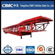 Компания Cimc 3 Мост Легкового Транспорта Полу Трейлер Тележки Трейлера Semi
