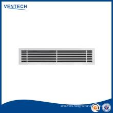 Air vent aluminium linear grille/air bar grille