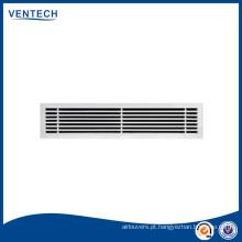 Grade de ar vent alumínio grade linear/ar bar