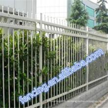 Ganzer Verkauf Vereinigte Staaten Park / Besichtigungszone Stangen-Zaun QYM ISO9001