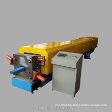 Stable working high frequency welded tube downspout roll forming machine