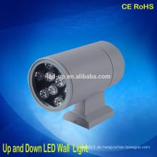 Dekorative moderne 9W Mini LED Wandleuchte im Freien nach oben und unten LED Licht