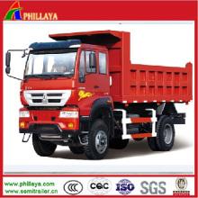 Sino HOWO 4X2 Mini Dump Truck / Dump Light Truck