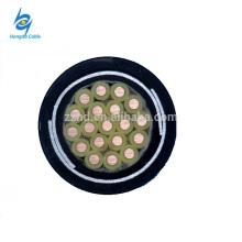 Cable de control blindado trenzado de la cinta de acero de cobre de 450 / 750V 2.5mm2