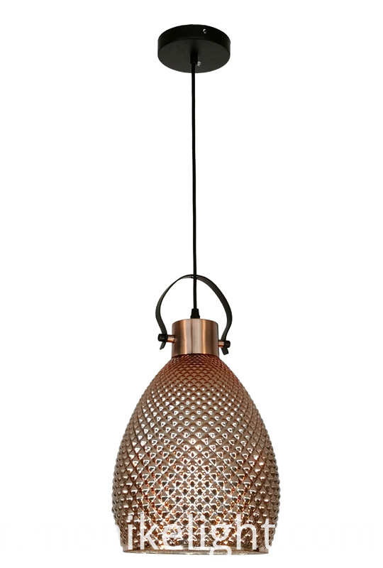 Modern Pendant Light Rose Gold