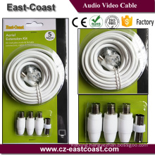 European market Aerial Extension cable kits ROHS/REACH APPROVAL