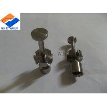 Titanium screws for racing car