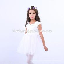 2017 Baby Girl Party Dress Vestido de los vestidos de los niños del vestido de la muchacha del partido