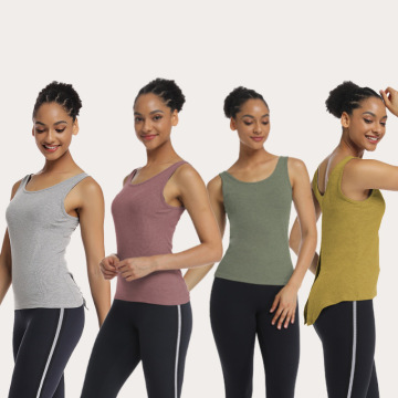 Yoga T-Shirts Activewear Trainingsoberteile für Frauen