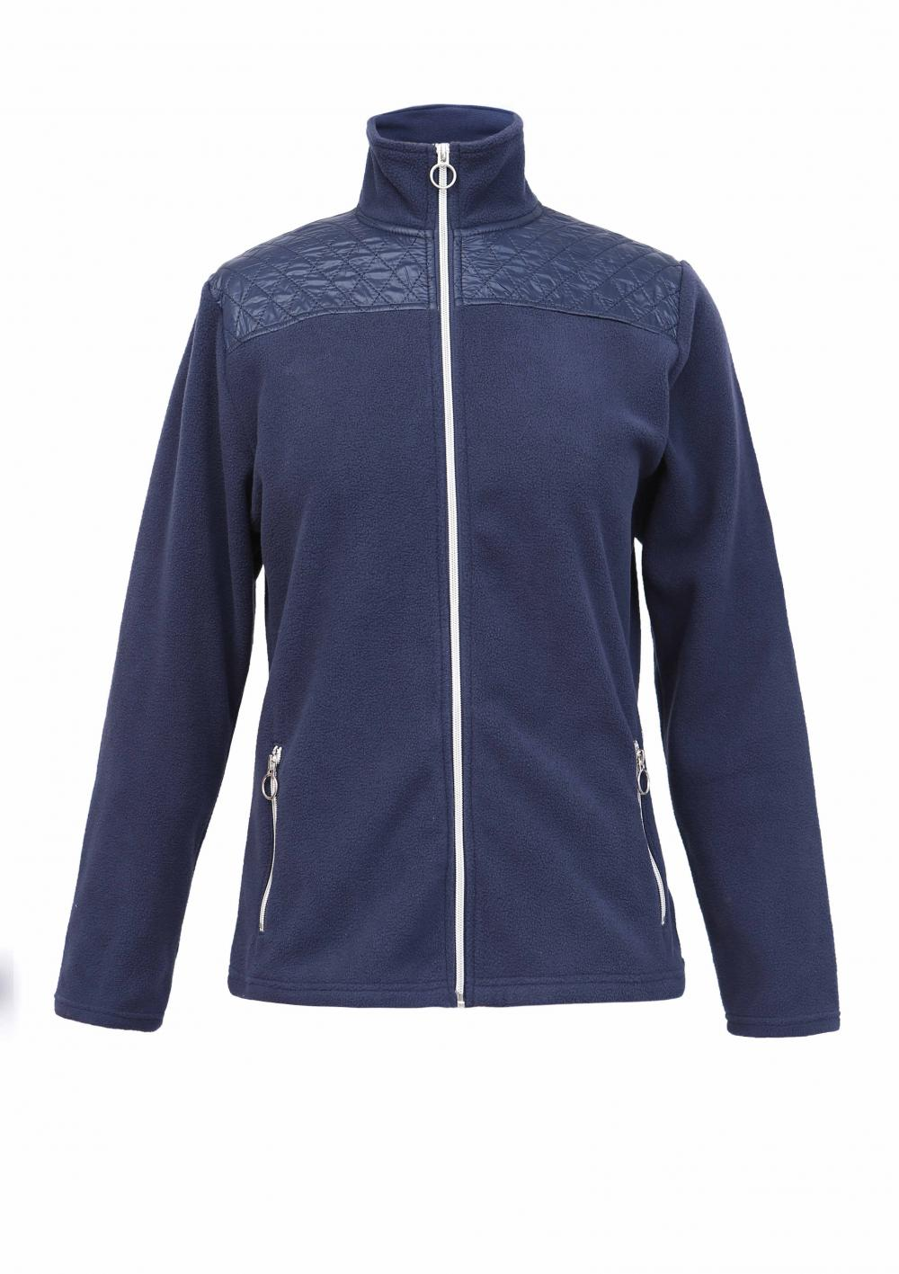 Ladies zip through jacket