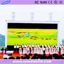 Pantalla LED de alquiler a cielo abierto P10 a presión a todo color Made-in-China (FCC CE)