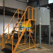 Horno de carbonización continua sin humo para la fabricación de carbón vegetal