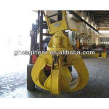 Excavator Hydraulic Orange Peel Grab for metal scrap hydraulic grab
