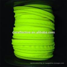 cabo encanamento reflexivo colorido do estiramento EN471 para a roupa