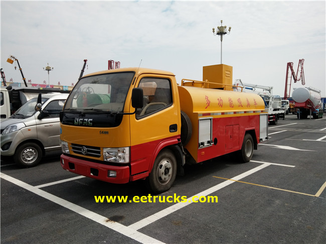 4X2 Sewage Suction Tanker Trucks