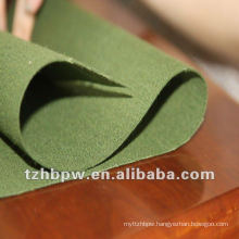 PVC coated waxed fabric for cover