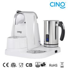 Máquina de café cápsula L/M com p / leite