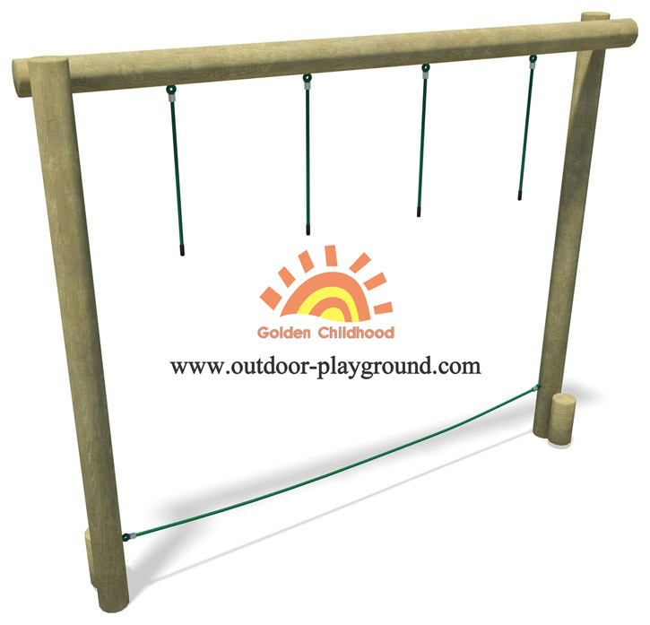Body Balance Wooden Park Structure