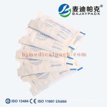 Poche médicale de stérilisation de papier de papier de 60gsm