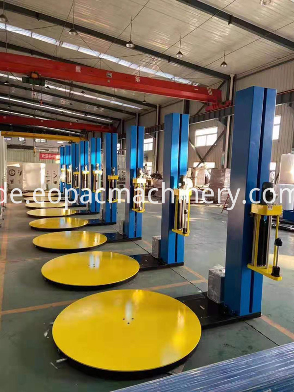 Pallet Packing Machine Stretch Film Wrapping Machine
