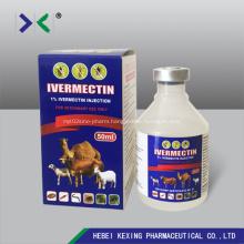 Ivermectin Injection 1% Plastic vial