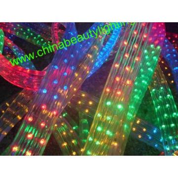 Luz LED de cuerda LED de forma plana de 5 cables
