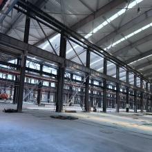 Edificio prefabricado de estructura de acero para taller
