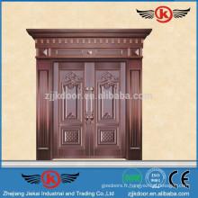 JK-RC9203 New Designs Real Copper Entry Doors