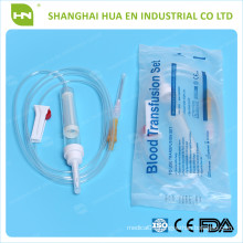 cheapest blood transfusion set made in China 2016 CE ISO