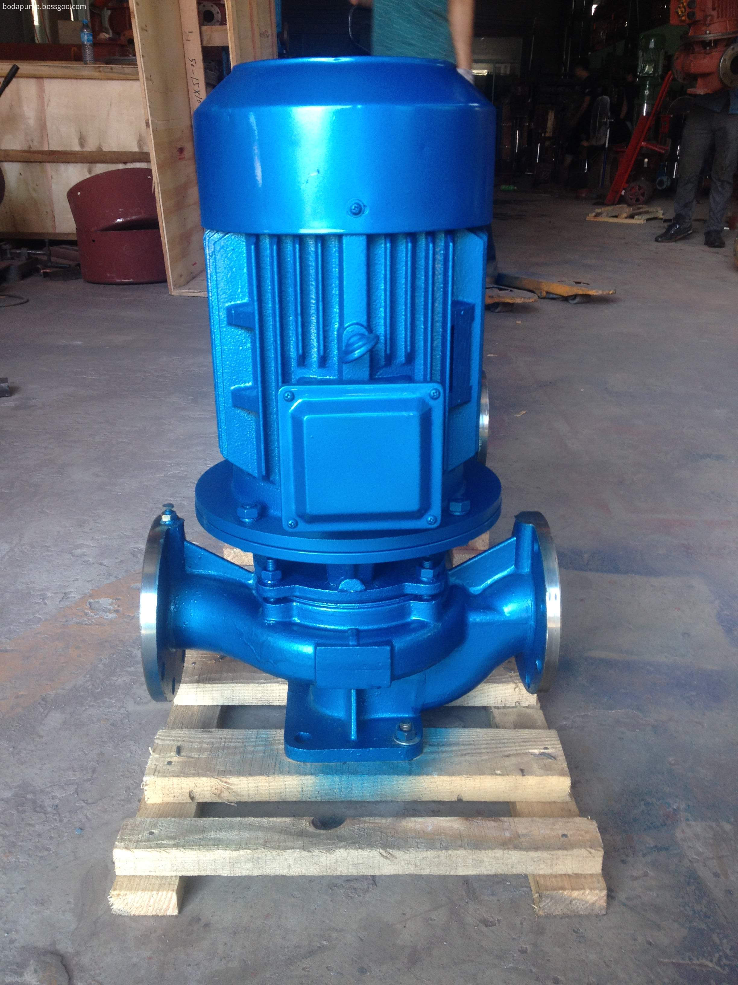 ISG series vertical pipeline centrifugal pump vertical centrifugal pump 4