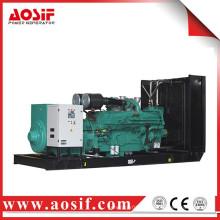China 1250kw / 1563kva generador usado a prueba de sonido KTA50-G9 generador diesel
