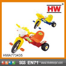 Lustige Plastik Dreirad Kinder Spaziergänger Dreirad Kinderwagen Dreirad