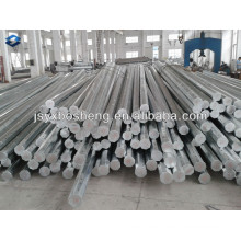 35FT Galvanized Octagonal Transmission Steel Pole
