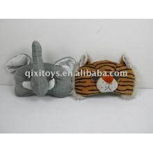 peluche y máscara de fiesta de peluche de juguete
