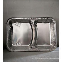 Environmentally-friendly take-out aluminum foil cutlery lunch box