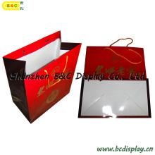 Bolso de papel de las compras de la alta calidad con las manijas con SGS (B & C-I037)
