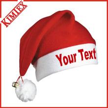 Günstige Fleece Promotion Weihnachtsfest Weihnachtsmütze
