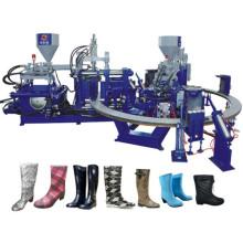 Rainshoes que hace la máquina dos colores