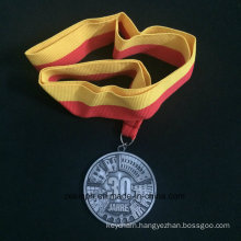 Custom Znic Alloy Medal for 30 Jahre Ancient Nicke Medal