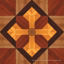 Revestimento de madeira maciça projetado delicado do parquet do Sulinam de 3 camadas