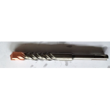 Буровое долото SDS Plus S4 Крестовая головка, плоская головка S4 Одиночная флейта красного цвета