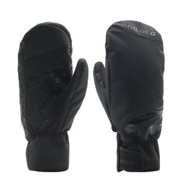 Top-Qualität Logo gedruckt Warmhalten Ski Outdoor-Handschuhe