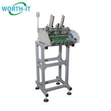 High Table Batching Plastic Card Feeder and Transport