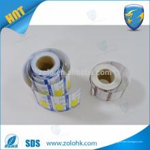 Fabricación de papel térmico produce roll de papel térmico en blanco de primera calidad