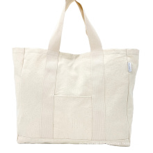 Wholesale Reusable Grocery Tote Bags Heavy Duty Canvas Craft Store Cotton Tote Shopping bag