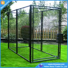 Cerca del perro de alambre soldado / jaula de perro portátil grande al aire libre