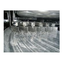 Secadora rotativa de placa continua / secadora de disco para polvo de coco