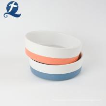 Kundenspezifisches Keramik-Haustier-Tierfutter-Fütterungs-Hundenapf-Langsamfutter