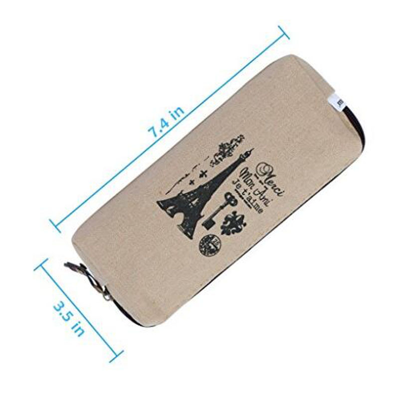Canvas Student Pencil Cases