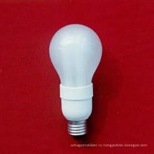 Сферический 5-11W Flosted Type, энергосберегающая лампа для стандартных типов гнезд
